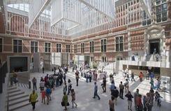 Rijksmuseum in Amsterdam Royalty Free Stock Photo