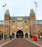 Rijksmuseum In Amsterdam Royalty Free Stock Images