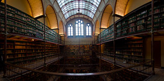 Rijksmuseum Amsterdam Library Royalty Free Stock Photo