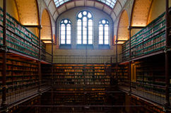 Rijksmuseum Amsterdam Library Royalty Free Stock Photography