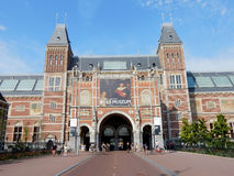 Amsterdam Rijksmuseum, 1885, National state museum, building with Medieval appearance stock photography