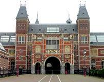 Rijksmuseum in Amsterdam. Nederland Stock Foto's