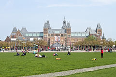 Rijksmuseum in Amsterdam the Netherlands Royalty Free Stock Images