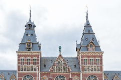 Rijksmuseum in Amsterdam, Netherlands Stock Photo