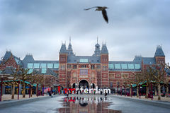 Rijksmuseum Amsterdam Royalty Free Stock Photos
