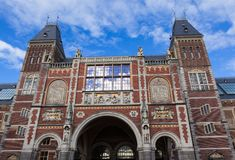 The Rijksmuseum in Amsterdam Royalty Free Stock Image