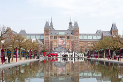 Rijksmuseum in Amsterdam the Netherlands Stock Photos