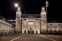 Rijksmuseum amsterdam Royalty Free Stock Images