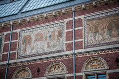 Rijksmuseum in Amsterdam Royalty Free Stock Image