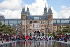 Rijksmuseum Amsterdam (State Museum) Royalty Free Stock Images