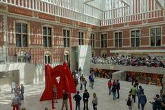 Rijksmuseum Amsterdam (State Museum) Stock Images
