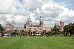 Rijksmuseum Amsterdam (State Museum) Stock Image