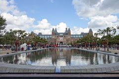 Rijksmuseum Amsterdam (State Museum) Stock Photography