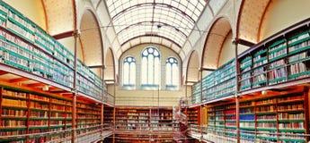 Rijksmuseum-Bibliothek stockfotografie