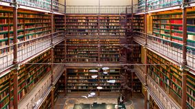 Rijksmuseum-Bibliothek lizenzfreie stockbilder