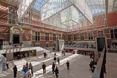 Rijksmuseum em Amsterdão Imagem de Stock Royalty Free