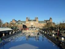 Rijksmuseum em Amsterdão Fotos de Stock