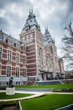 Rijksmuseum en Amsterdam Imagen de archivo libre de regalías
