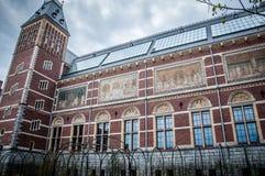 Rijksmuseum en Amsterdam Fotografía de archivo libre de regalías