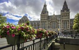 Rijksmuseum en Amsterdam Imagen de archivo