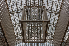 The Rijksmuseum entrance ceiling Stock Photography