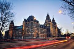 Rijksmuseum i Amsterdam Royaltyfri Foto