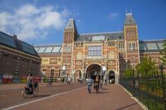 Rijksmuseum In Amsterdam Stock Photography