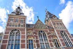 Rijksmuseum, Musée National néerlandais, 1876-1885, à Amsterdam Images libres de droits