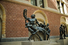 Rijksmuseum muzeum, Amsterdam Zdjęcia Stock