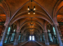 Rijksmuseum passage - HDR. Old Rijksmuseum entrance passage - architecture HDR Royalty Free Stock Photos