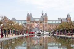 Rijksmuseum w Amsterdam holandie Zdjęcia Stock