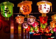 Rijlicht van Chinees nieuw jaar royalty-vrije stock foto