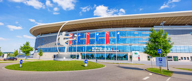 Rijn-Neckar Arena, Sinsheim Royalty-vrije Stock Afbeeldingen