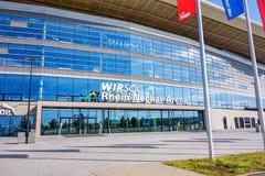 Rijn-Neckar Arena, Sinsheim Royalty-vrije Stock Afbeelding