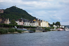 Rijn-vallei stock afbeeldingen