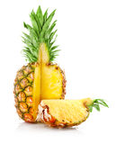 Rijp ananasfruit met besnoeiing Royalty-vrije Stock Afbeelding