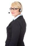 Rijp call centre. Royalty-vrije Stock Foto