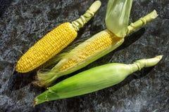 Rijp graan in de schil Het gezonde Eten Stock Foto
