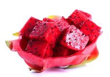 Rijp pitayafruit royalty-vrije stock afbeeldingen