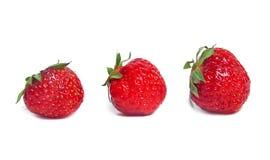 Rijpe aardbeien Royalty-vrije Stock Afbeelding