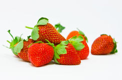 Rijpe aardbeien Stock Fotografie