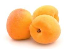 Rijpe abrikoos Stock Afbeeldingen