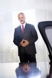Rijpe Afrikaanse Amerikaanse zakenman Stock Fotografie
