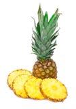 Rijpe ananas (ananas) Stock Afbeelding