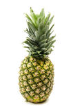 Rijpe ananas op wit Royalty-vrije Stock Foto's