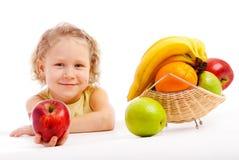Rijpe appel Royalty-vrije Stock Afbeelding