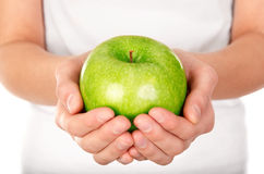 Rijpe appel Stock Foto