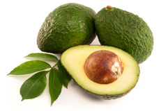 Rijpe Avocado Royalty-vrije Stock Afbeelding