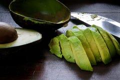 Rijpe avocado Royalty-vrije Stock Fotografie