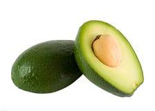 Rijpe avocado stock afbeeldingen